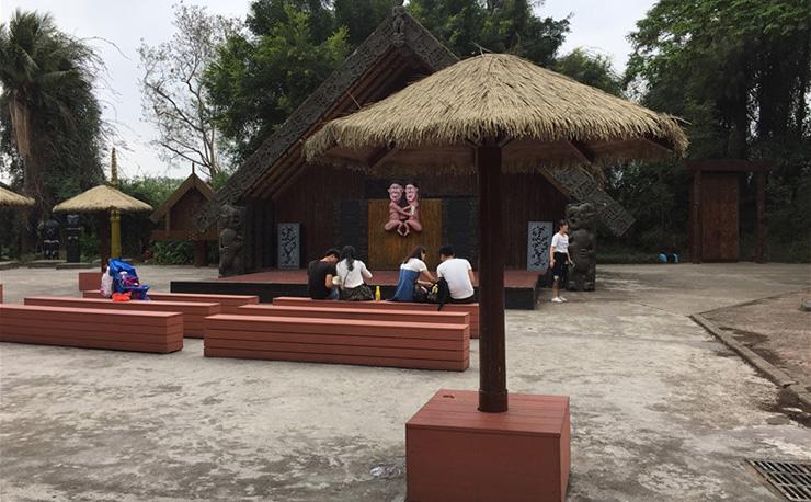深圳世界之窗塑木看台