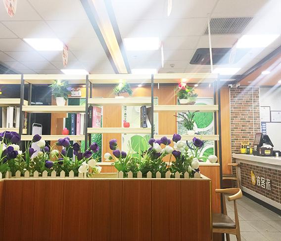 深圳德克士餐饮连锁绿可木精装