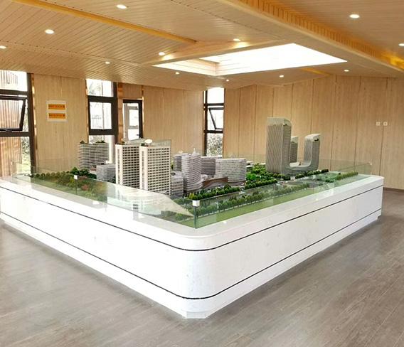 新加坡售楼部生态木墙顶