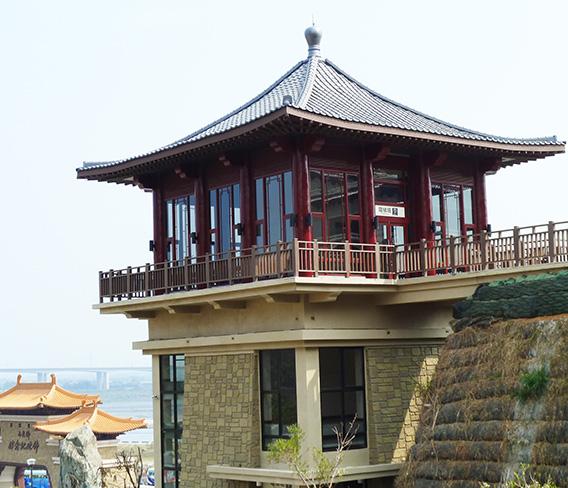 台北佛光山纳米木栏杆