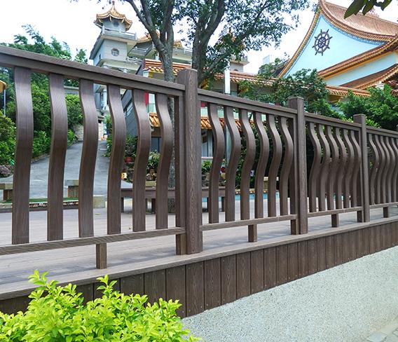 台湾文山市纳米木异形护栏平台
