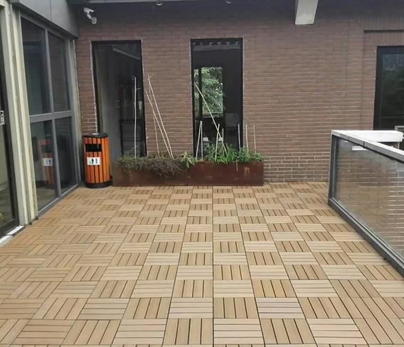 北京刘女士私宅生态木DIY地板