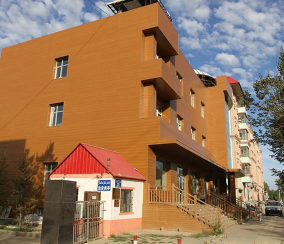 西藏林芝住宅石英木外墙