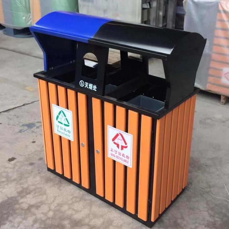 LJT1002塑木垃圾桶