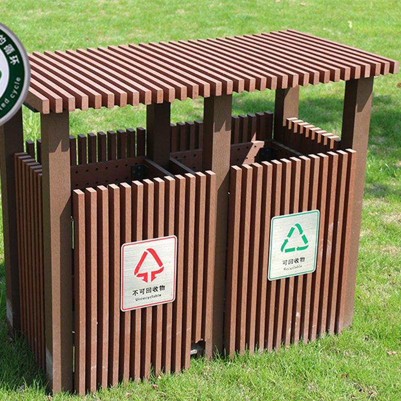 LJT1004塑木垃圾桶