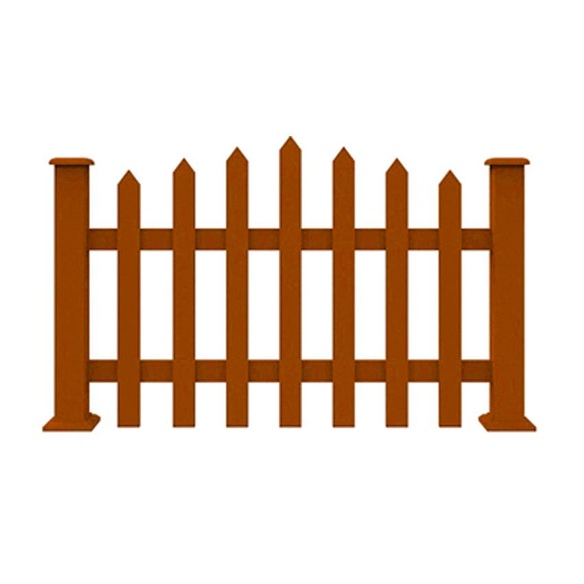 ZL1001塑木栅栏