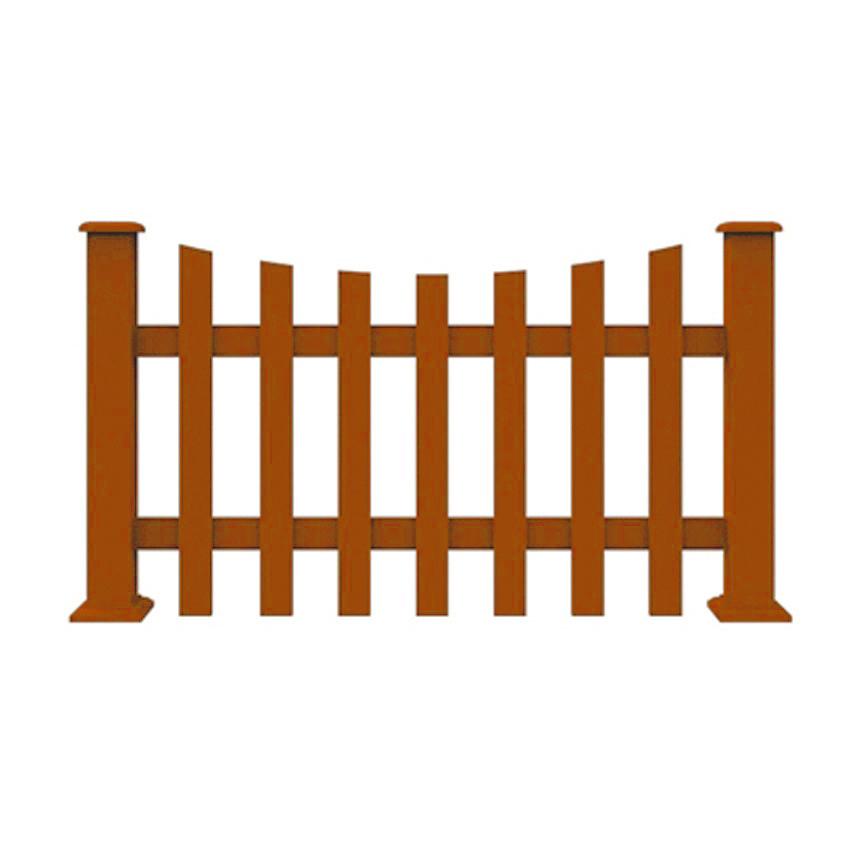 ZL1006塑木栅栏