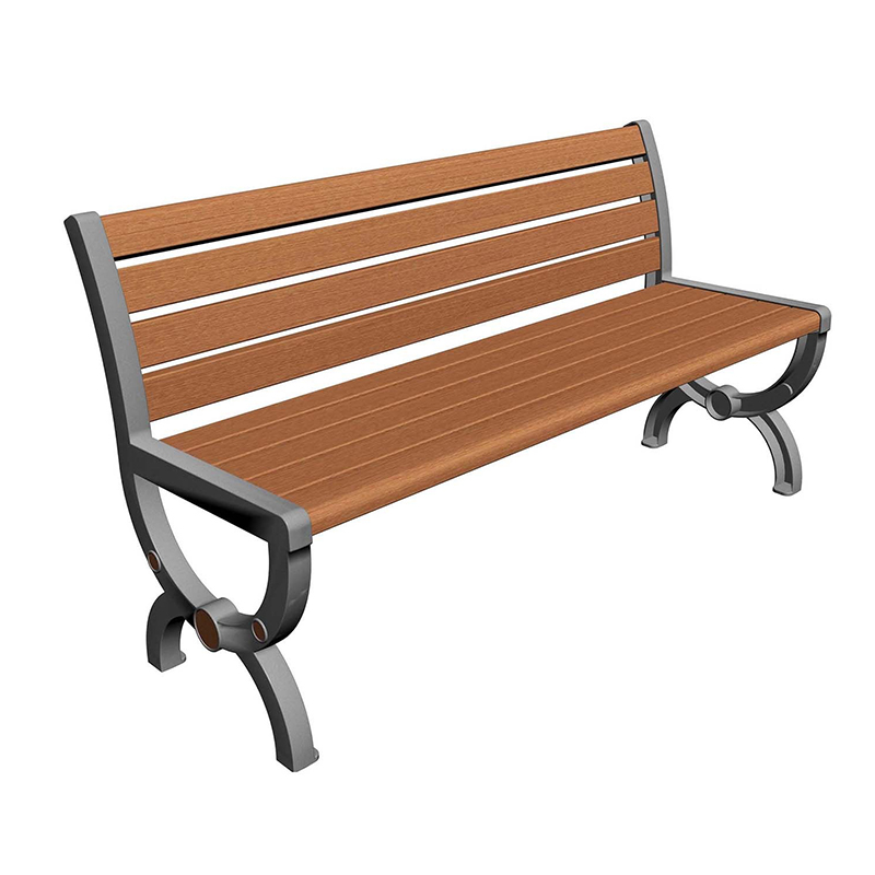 塑木公园椅时尚款