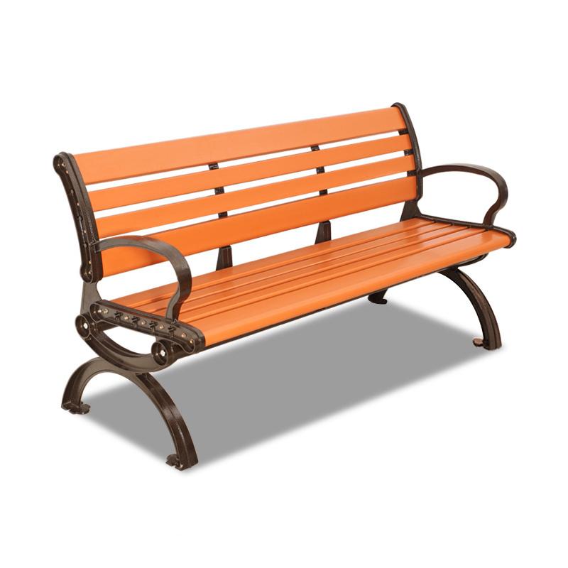 塑木公园椅靠背款