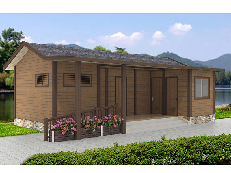 营地配套生态公厕