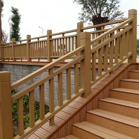 塑木护栏丨木塑栏杆