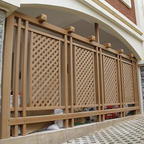 塑木栅栏丨木塑围栏